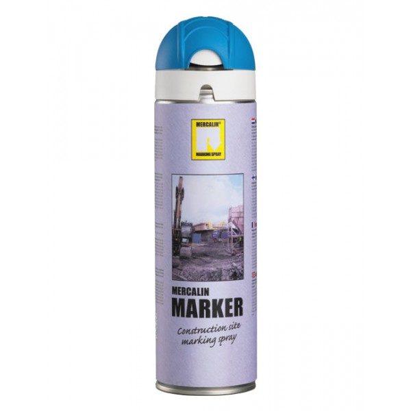 Mercalin Blå FluorescerandeMärkspray 500 ml