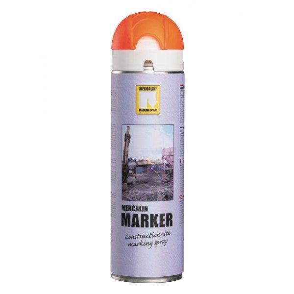 Mercalin Orange FluorescerandeMärkspray 500ml
