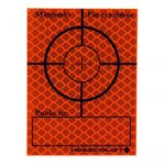 Reflextejp 60x80 Röd