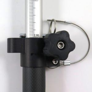 GNSS Stång teleskopisk 1.35-2.5m
