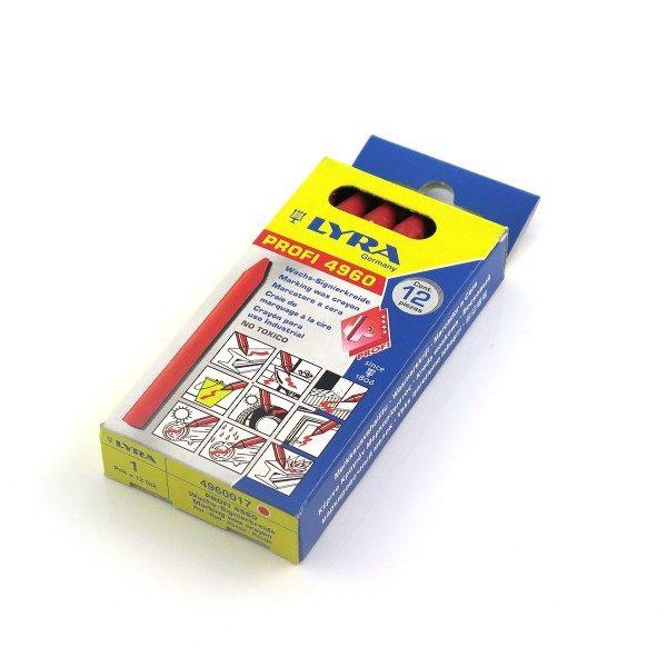 Krita Röd 8,5mm (12-pack)