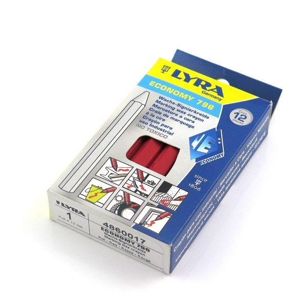 Krita Röd 12mm (12-pack)
